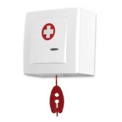 SPR-PK1C/AAK/ZAS, przycisk alarm+linka, kasowanie, 9-28V DC