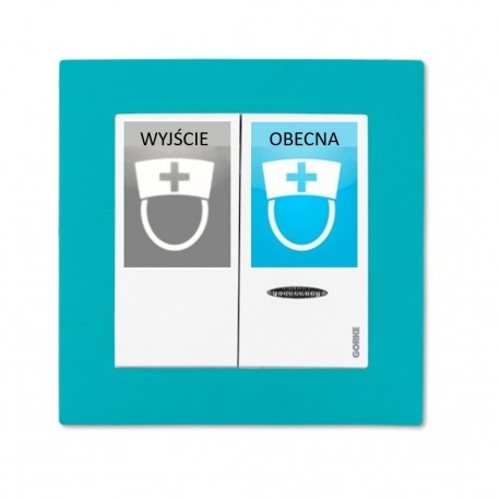 SPR-PK2/AK/sister/ZAS, przycisk obecności pielęgniarki